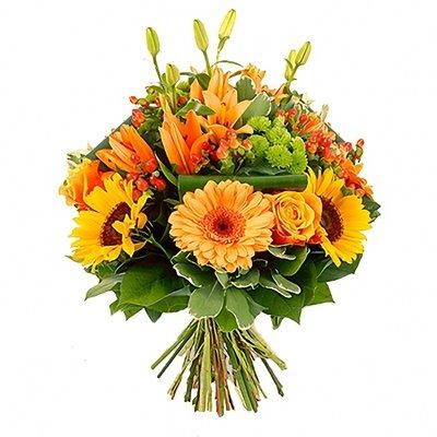 """Ziedu pušķis """"Oranžais"""""""