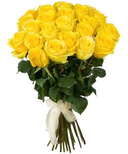 Dzeltenas rozes 60 cm (skaits pēc izvēles)