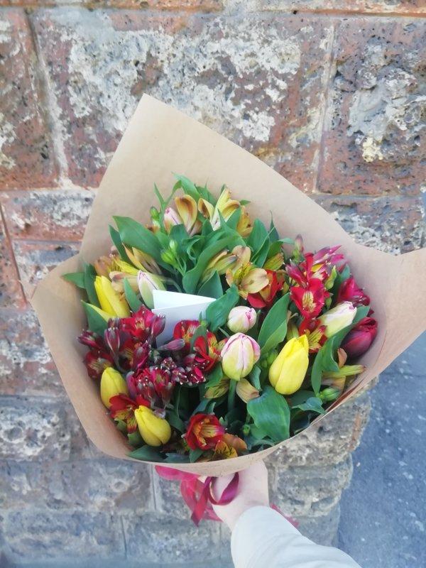 Ziedu pušķis Jūsu izvēlētā cenā