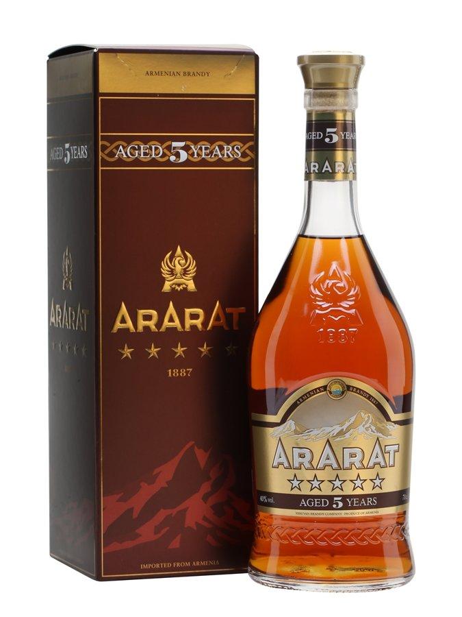 Brendijs Ararat 5*, 40% - 0,7l