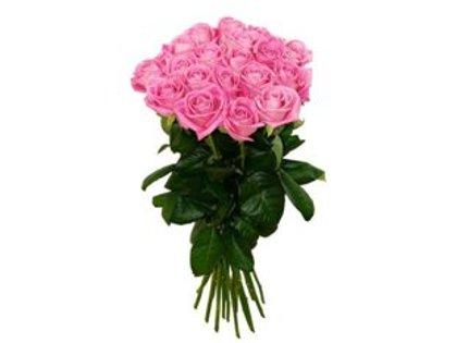 Rozā rozes 50 cm (skaits pēc izvēles)