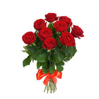 Sarkanas rozes 40 cm (skaits pēc izvēles)