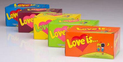 """Košļājamā gumija """"Love is"""" (garša pēc izvēles)"""