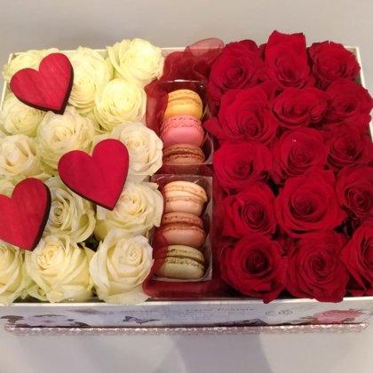 Ziedi ar saldumiem